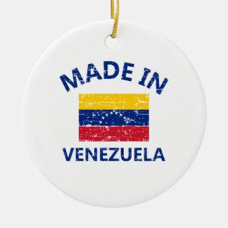 ベネズエラで作られる セラミックオーナメント