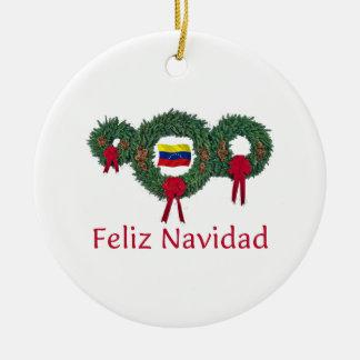 ベネズエラのクリスマス2 セラミックオーナメント