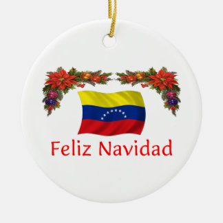 ベネズエラのクリスマス セラミックオーナメント