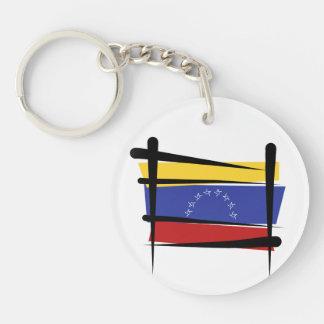 ベネズエラのブラシの旗 キーホルダー