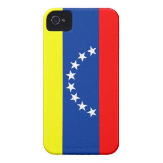 ベネズエラの国旗の箱 Case-Mate iPhone 4 ケース