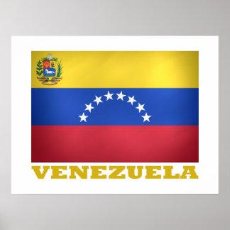 ベネズエラの国旗 ポスター