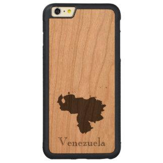 ベネズエラの地図 CarvedチェリーiPhone 6 PLUSバンパーケース