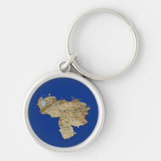 ベネズエラの地図Keychain キーホルダー