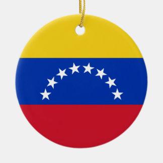 ベネズエラの旗のオーナメント セラミックオーナメント