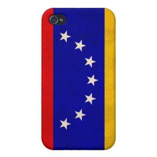 ベネズエラの旗の動揺してで堅い薬莢 iPhone 4/4S ケース
