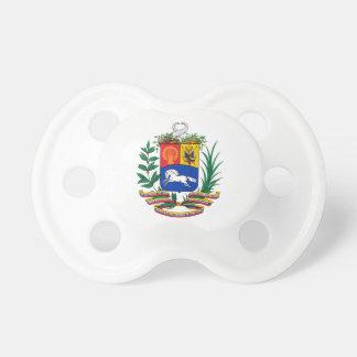 ベネズエラの紋章付き外衣 おしゃぶり