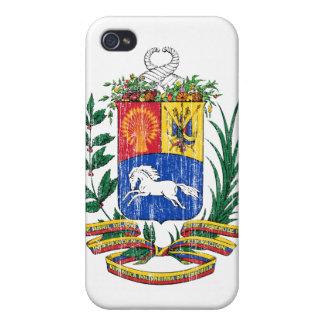 ベネズエラの紋章付き外衣 iPhone 4/4S COVER