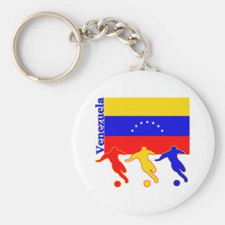 ベネズエラ-サッカーの選手 キーホルダー
