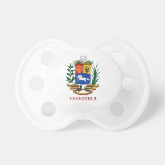 ベネズエラ-紋章か紋章付き外衣か旗または記号 おしゃぶり
