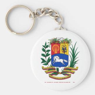 ベネズエラ-紋章か紋章付き外衣か旗または記号 キーホルダー