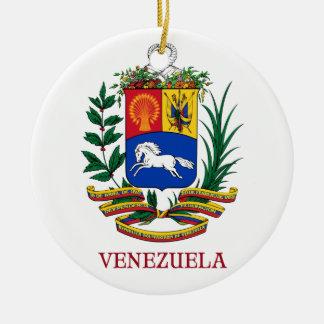 ベネズエラ-紋章か紋章付き外衣か旗または記号 セラミックオーナメント
