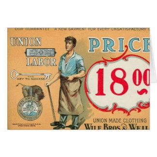 ベネットの労働のコレクション カード