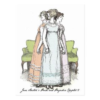 ベネットの姉妹-ジェーンAusten P&P CH 2 ポストカード