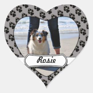 ベネット- Rosie - Carmelのオーストラリアのミニビーチ ハート形シールステッカー