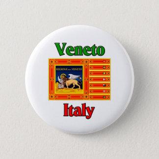 ベネトイタリア 5.7CM 丸型バッジ