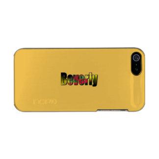 ベバリィの金終わりのiPhoneの箱 メタリックiPhone SE/5/5sケース
