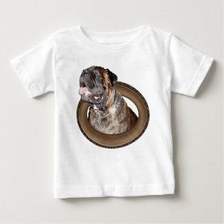 ベビーおよび幼児のためのブル・マスチフの衣類 ベビーTシャツ