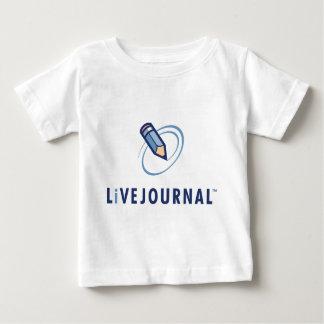 ベビーおよび幼児(ロゴの垂直) ベビーTシャツ
