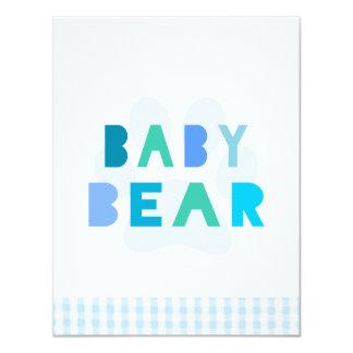 ベビーくま-青 カード