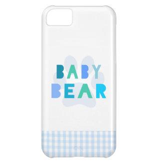 ベビーくま-青 iPhone5Cケース