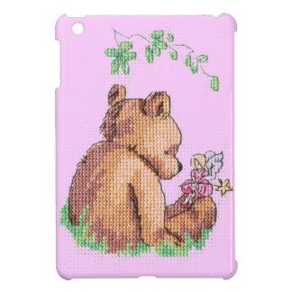 ベビーのくまおよび妖精! iPad MINI カバー