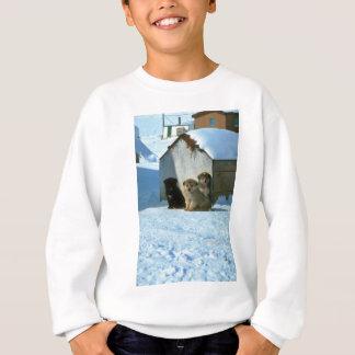 ベビーのそり犬、グリーンランド スウェットシャツ