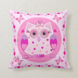 ベビーのためのかわいいフクロウの枕 クッション