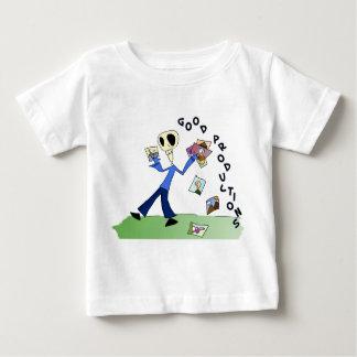 ベビーのためのGPウイリーの動画のワイシャツ! ベビーTシャツ