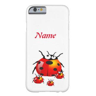ベビーのてんとう虫を持つてんとう虫 BARELY THERE iPhone 6 ケース