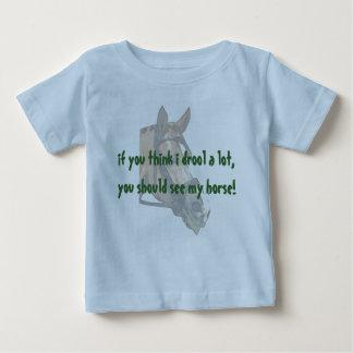 ベビーのよだれ ベビーTシャツ