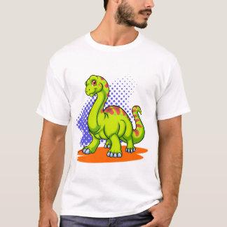 ベビーのアパトサウルス Tシャツ