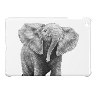 ベビーのアフリカゾウ iPad MINIケース