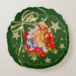 ベビーのイエス・キリストの円形の装飾用クッション ラウンドクッション
