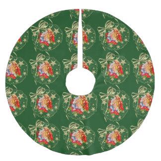 ベビーのイエス・キリストの木のスカート ブラッシュドポリエステルツリースカート