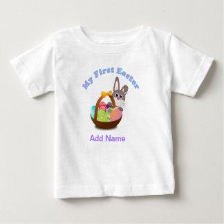 ベビーのイースターギフトのためのイースター私の最初ワイシャツ ベビーTシャツ