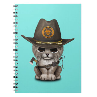ベビーのオオヤマネコのゾンビのハンター ノートブック
