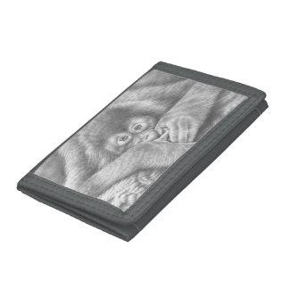 ベビーのオランウータンの財布