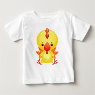 ベビーのオンドリ ベビーTシャツ