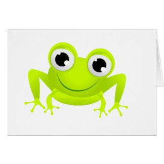 ベビーのカエル カード