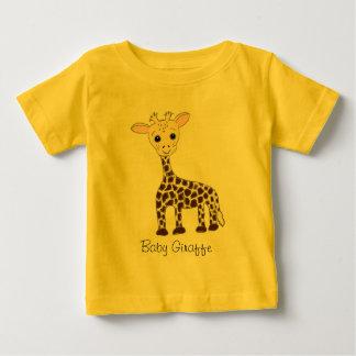 ベビーのキリン ベビーTシャツ