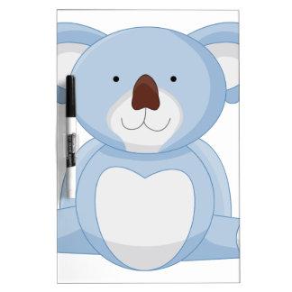 ベビーのコアラの漫画 ホワイトボード