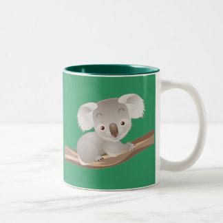 ベビーのコアラ ツートーンマグカップ