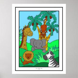 ベビーのジャングル1 ポスター