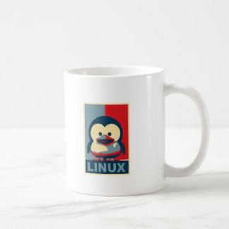 ベビーのタキシードのLinux コーヒーマグカップ