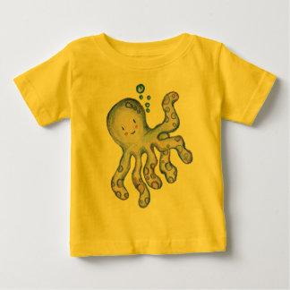 ベビーのタコ ベビーTシャツ