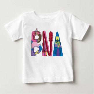 ベビーのティー|ナッシュビル、TN (BNA) ベビーTシャツ