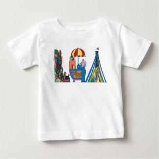 ベビーのティー|ニューヨーク、NY (LGA) ベビーTシャツ