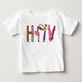 ベビーのティー ハバナのCU (HAV) ベビーTシャツ