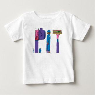 ベビーのティー|ピッツバーグ、PA (ピット) ベビーTシャツ